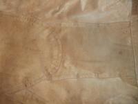 Tan Leather Jacket Back