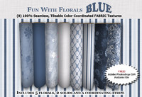 Fun with Florals - BLUE Collection