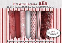 Fun with Florals - RED Collection