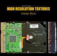 Hard Disk Texture