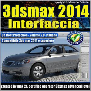 3dsmax_2014_vol_ 2.0 Interfaccia Italiano cd front