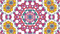 Vector Stock: Trippy Kaleidoscope