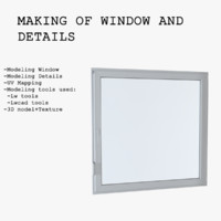 Making Of Window and Details