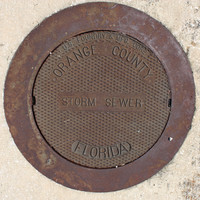 Man Hole Cover Storm Sewer