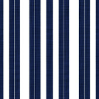 Coordinated Cottons - White on Navy Stripes