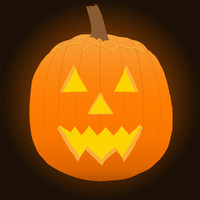 Vector Stock: Pumpkin / Jack-O-Lantern