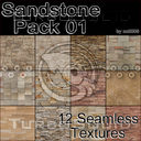 Sandstone Pack 01 (12 Seamless Texture)