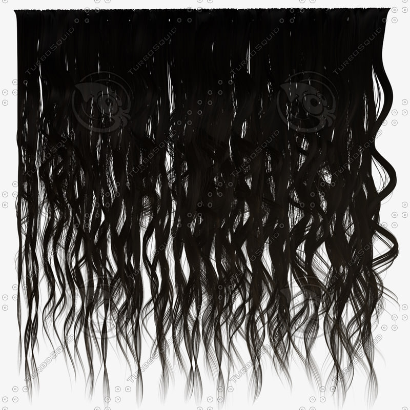 texture other hair messy curly