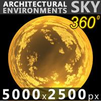 Sky 360 Sunset 011 5000x2500