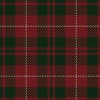 Country Club Twills - Scottish Highlands Crimson Plaid