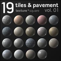 Tiles & Pavement Collection vol.1