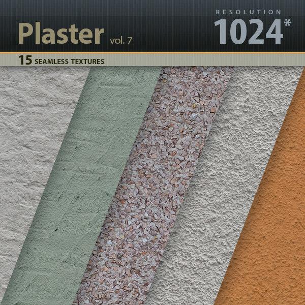 Plaster Textures vol.7