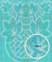 Green towel fabric texture map