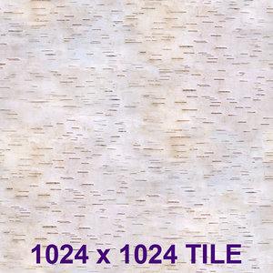Birch bark tile