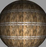Barrel 1 | Tileable | 2048px