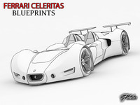 Ferrari Celeritas blueprints
