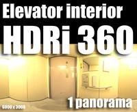 Hdr Elevator interior