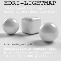 HDRI studio basic 007