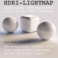 HDRI studio basic 012