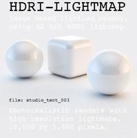 HDRI studio tent 003