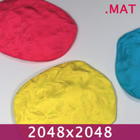 PlayDoh Clay 2048x Material