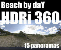 360 HDR pack beach by day