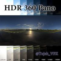 HDR 360 Pano Autdromo Jos Carlos Pace Interlagos sunrise03