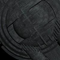 Space ship base texture