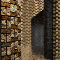 High Resolution Tileable Checker Brick (3)