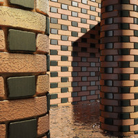 High Resolution Tileable Dotted Brick (1)