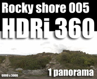 Hdr Rocky shore 005