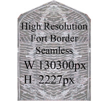 Fort border texture