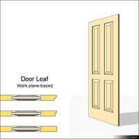 Door Leaf Moulding 01468se