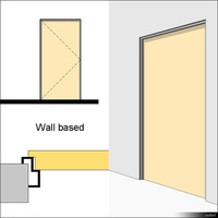 Door Swing Single Metal Corner 01475se