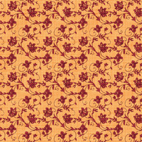 Coordinated Cottons - Red on Apricot Floral