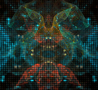HI-RES Abstract background SQG051