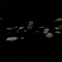 Asteroid Field Skybox