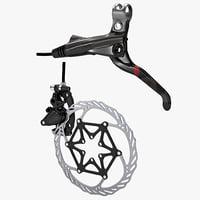 3d bicycle brake avid xx model