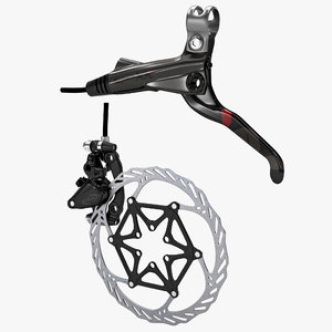 3d bicycle brake avid xx model