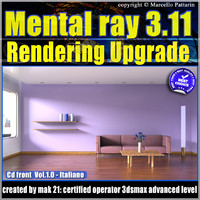 Mental Ray 3.11 In 3dsmax 2014 Vol.1 Rendering Upgrade Italiano cd front