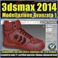 3ds max 2014 Modellazione Avanzata 1 v.23 Italiano cd front
