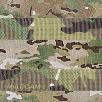 Multicam fabric & webbing