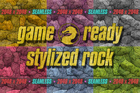 Game Ready Stylized Rock