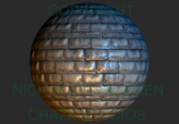 Seamless Roof Tile Texture
