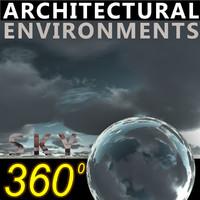 Sky 360 Clouded 003