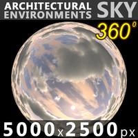 Sky 360 Clouded 005 5000x2500