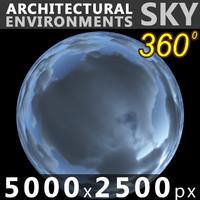 Sky 360 Clouded 014 5000x2500