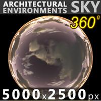 Sky 360 Sunset 032 5000x2500