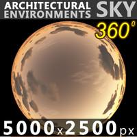 Sky 360 Sunset 043 5000x2500
