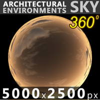 Sky 360 Sunset 050 5000x2500